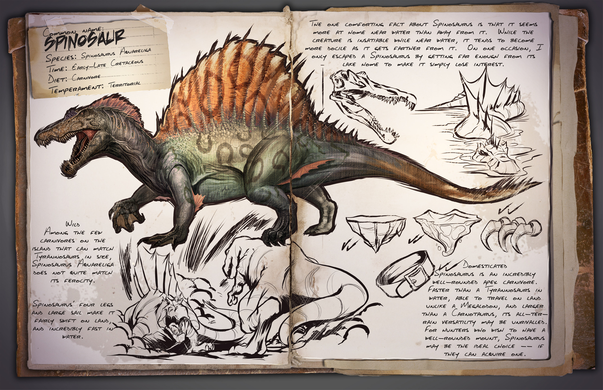 Ark survival evolved dinosaur list
