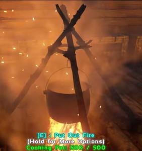 ark survival dye cooking pot