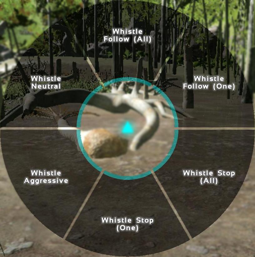 Dino-Whistle Commands - ARK: Survival Evolved
