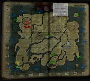 Map of Dungeons and Caves - ARK: Survival Evolved