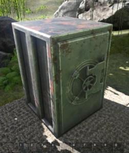 reinforced steel vault