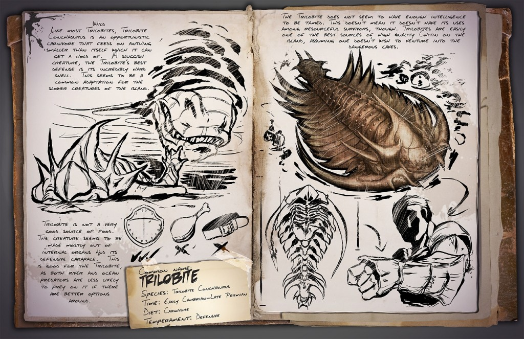 ARK Survival Evoilved Trilobite