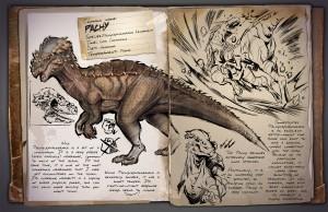 Ark Pachycephalosaurus