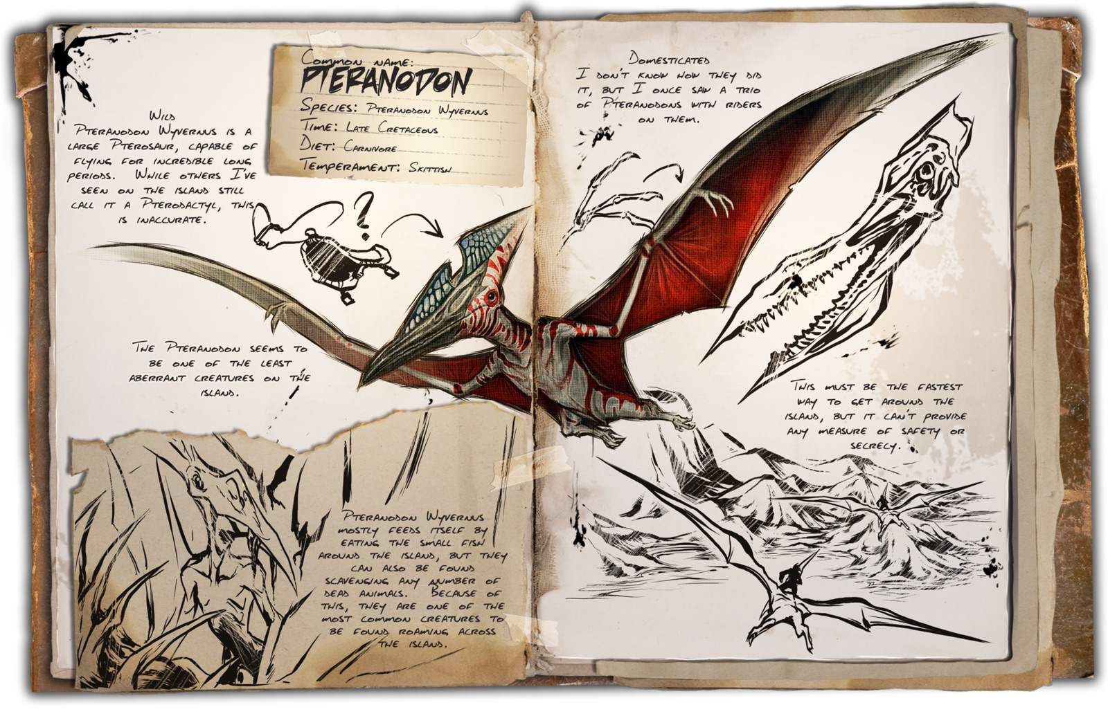 Flying archive ark survival evolved dino dossier pteranodon malvernweather Choice Image