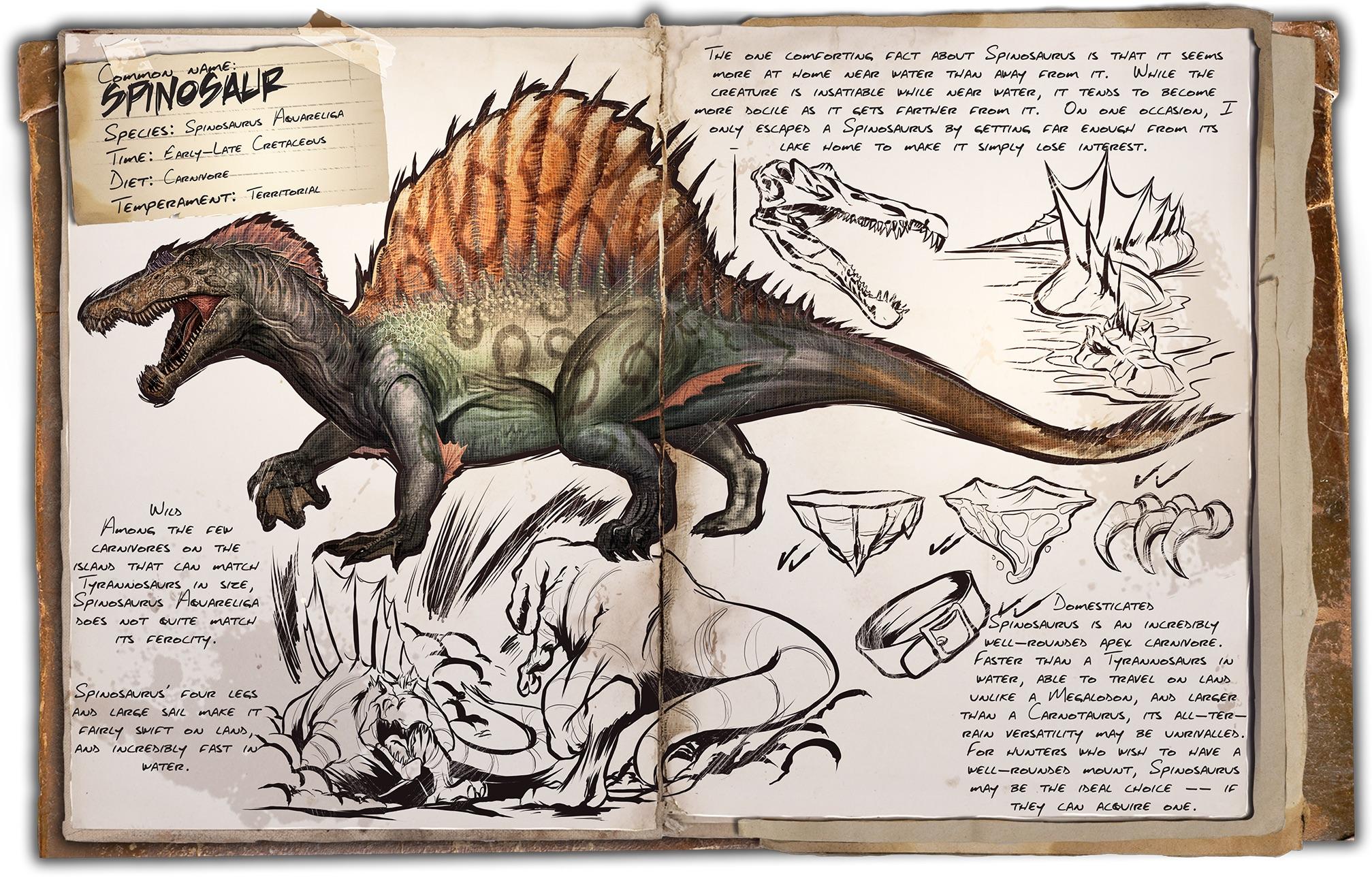 Dino Dossier: Spinosaur