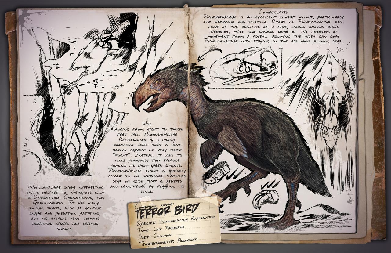 Dossier de Dino: Terror Bird