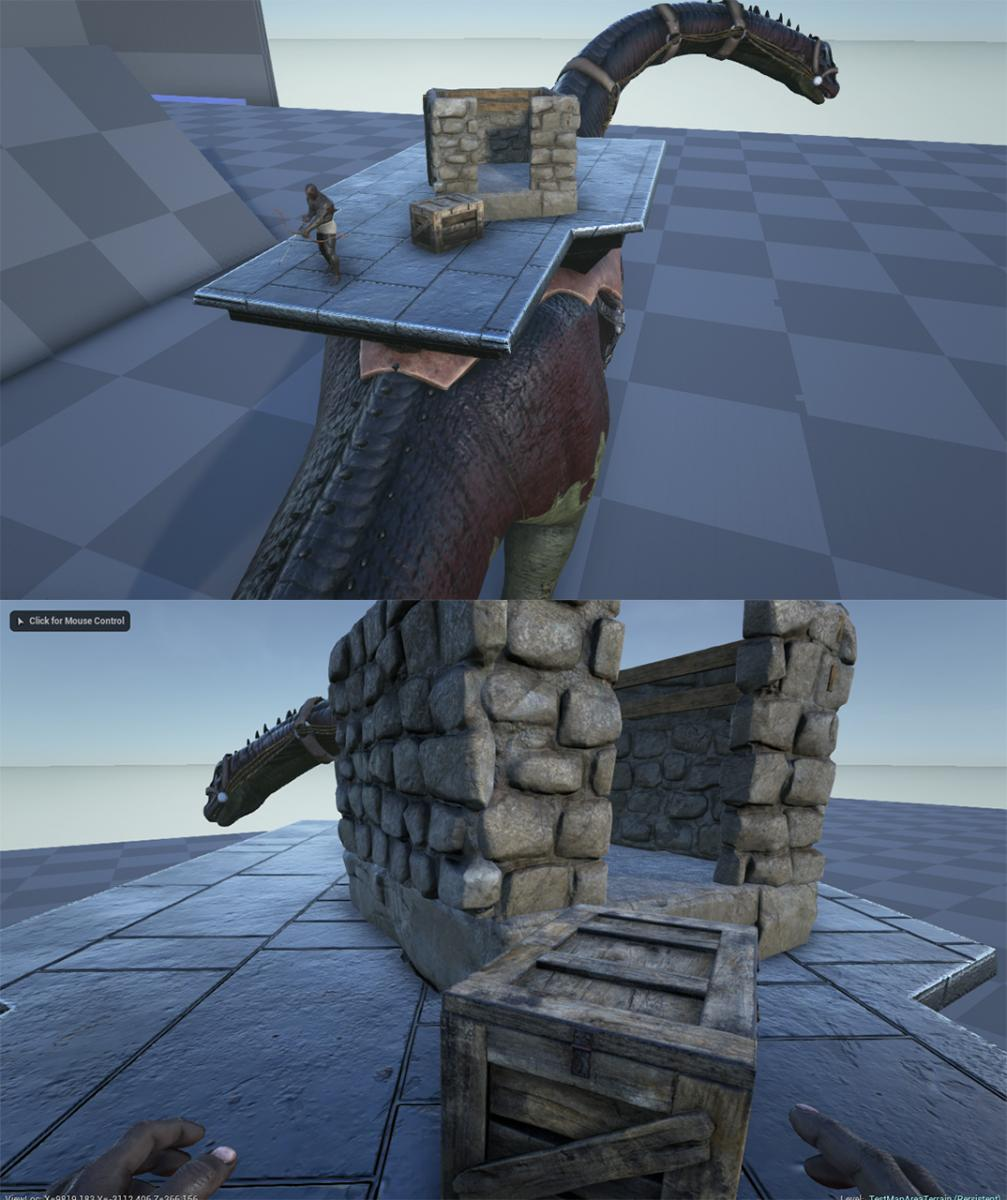 Ark survival evolved patch 207 saddle platforms are coming ark brontobase malvernweather Gallery