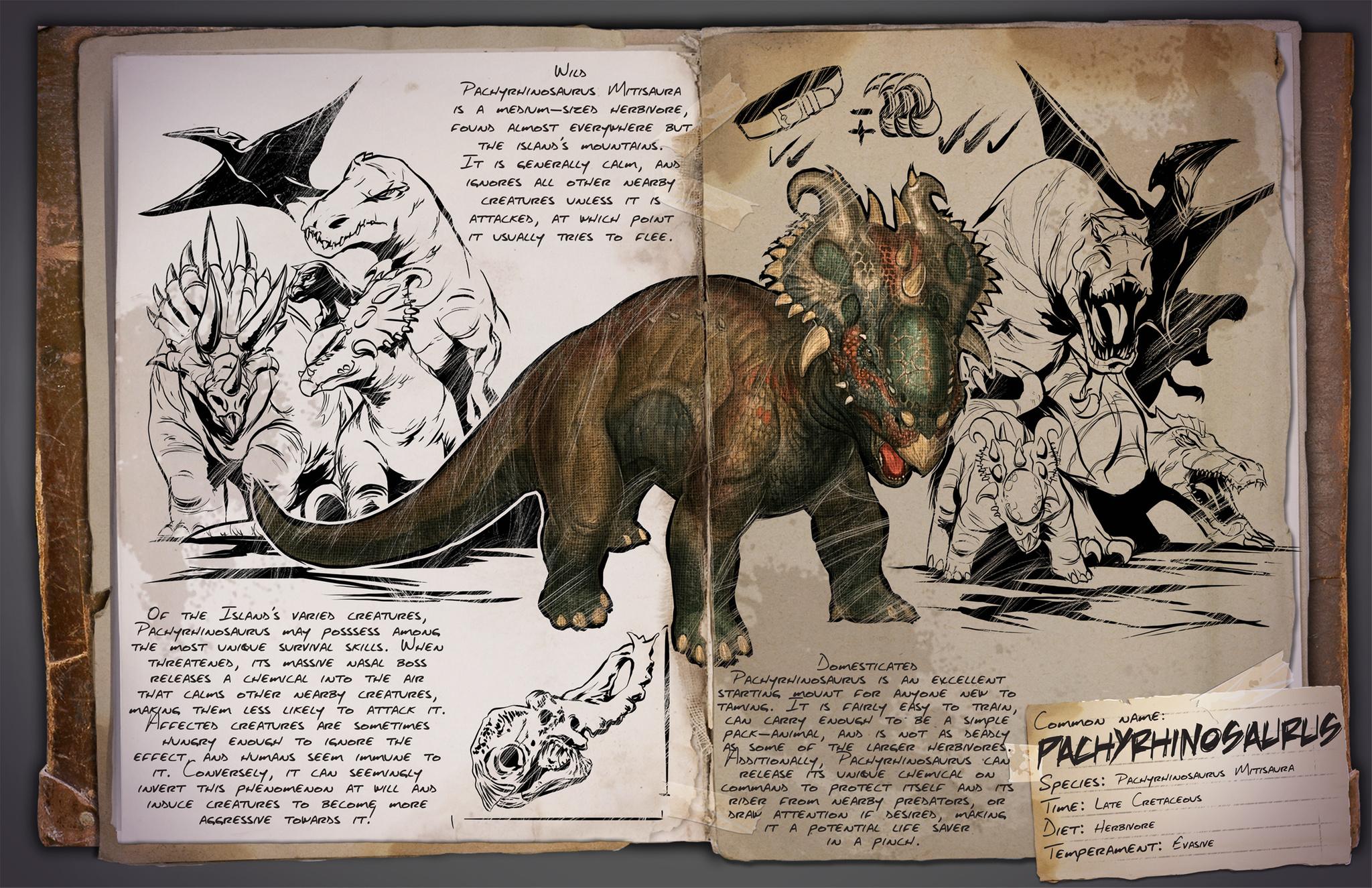 Deutsches Dino Dossier: Pachyrhinosaurus