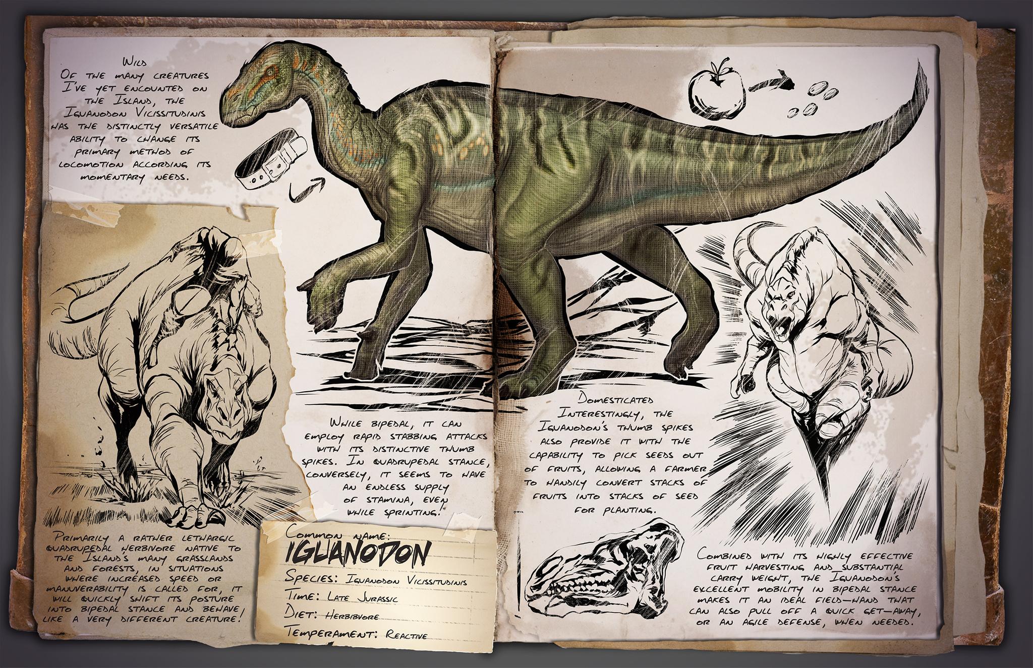 Deutsches Dino Dossier: Iguanodon