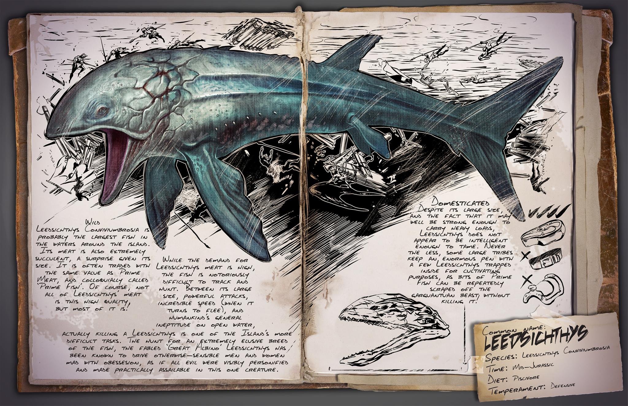 Dino Dossier: Leedsichthys
