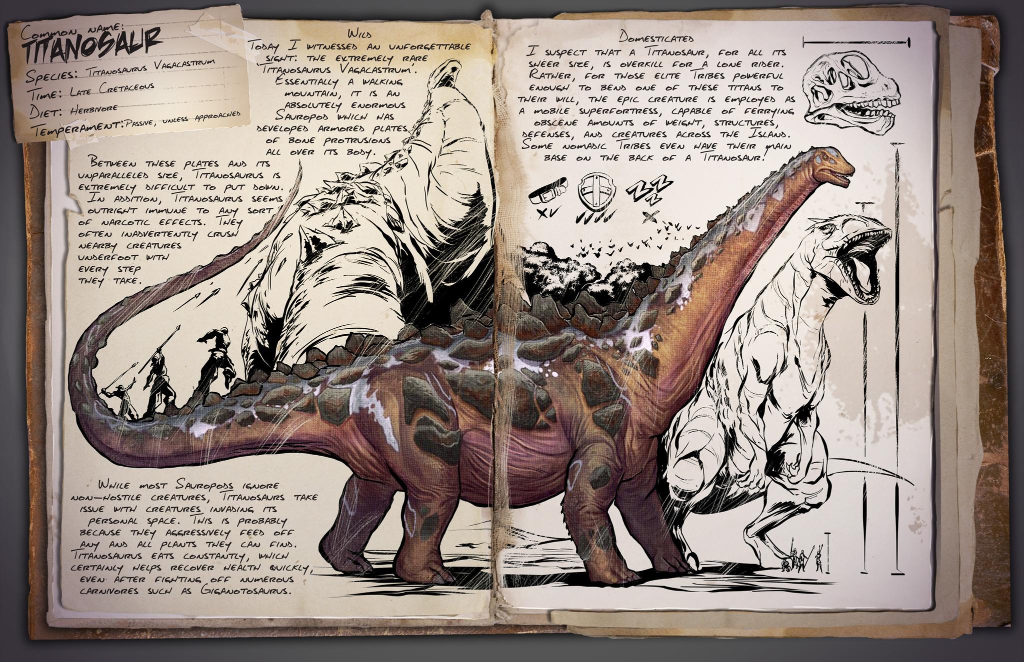 Deutsches Dino Dossier: Titanosaur