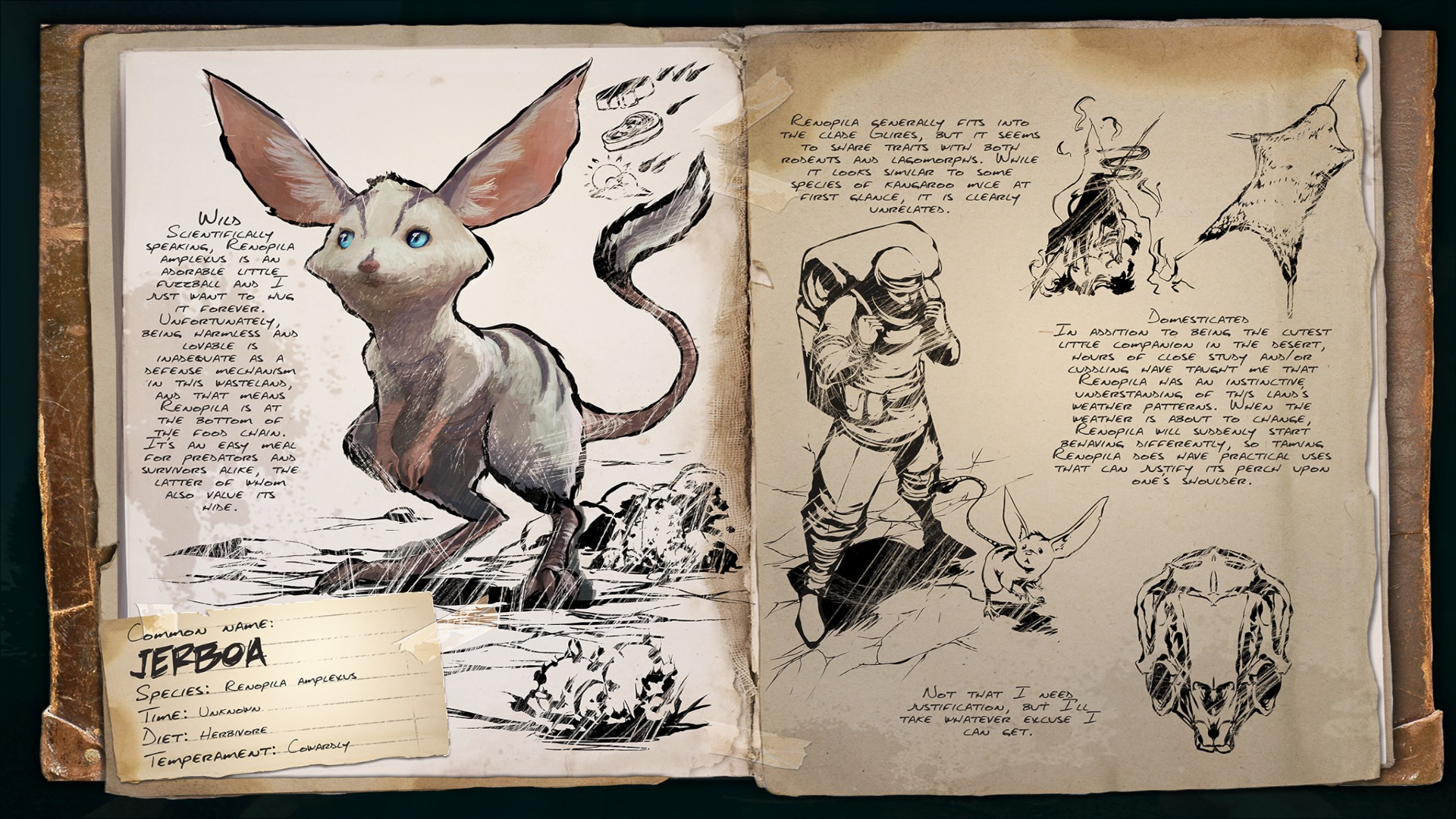 Dino Dossier: Jerboa (Scorched Earth)
