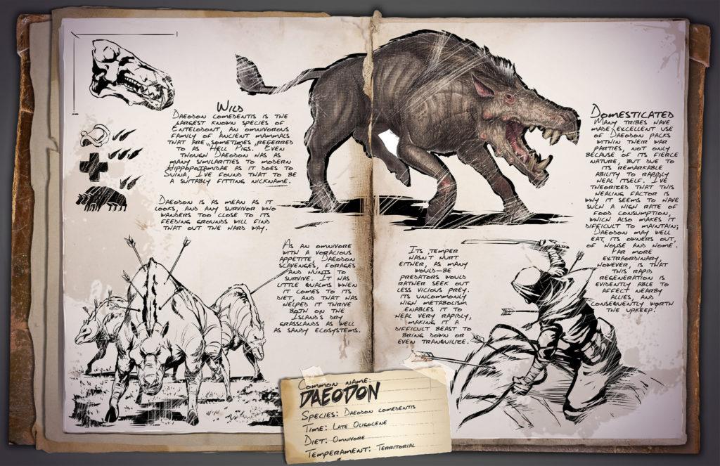 Dino Dossier: Daeodon - ARK: Survival Evolved
