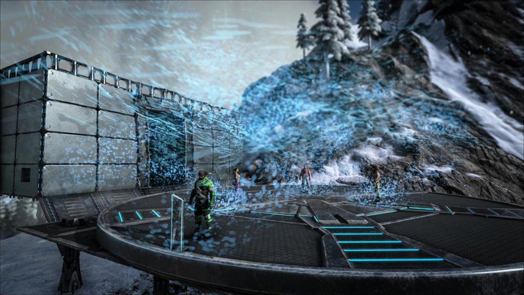 Was Ist Neu Tek Unterwasser Basis Tek Teleporter Tek Power