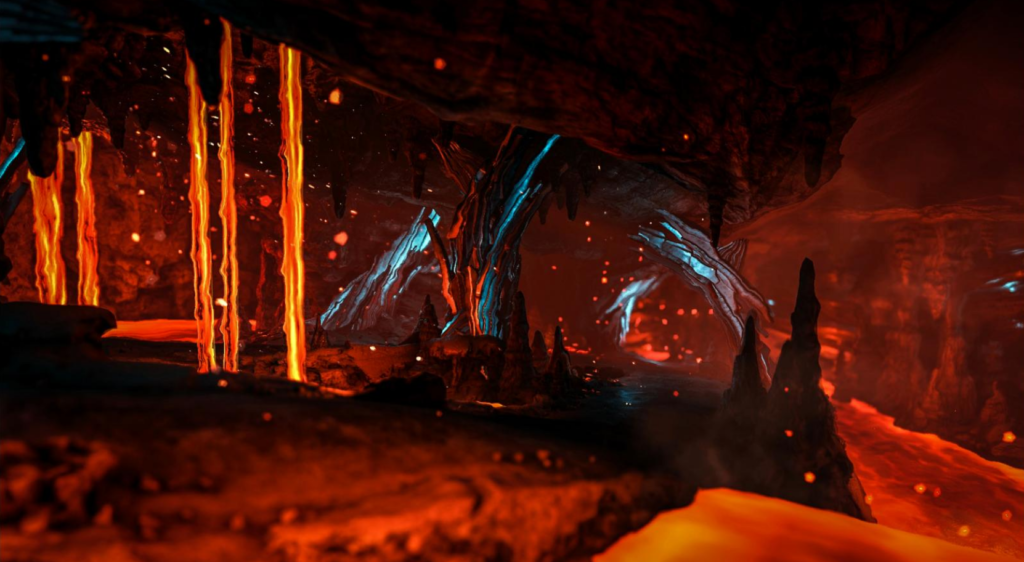 New Volcano-Design,Tec Cave and other cool new stuff! - ARK