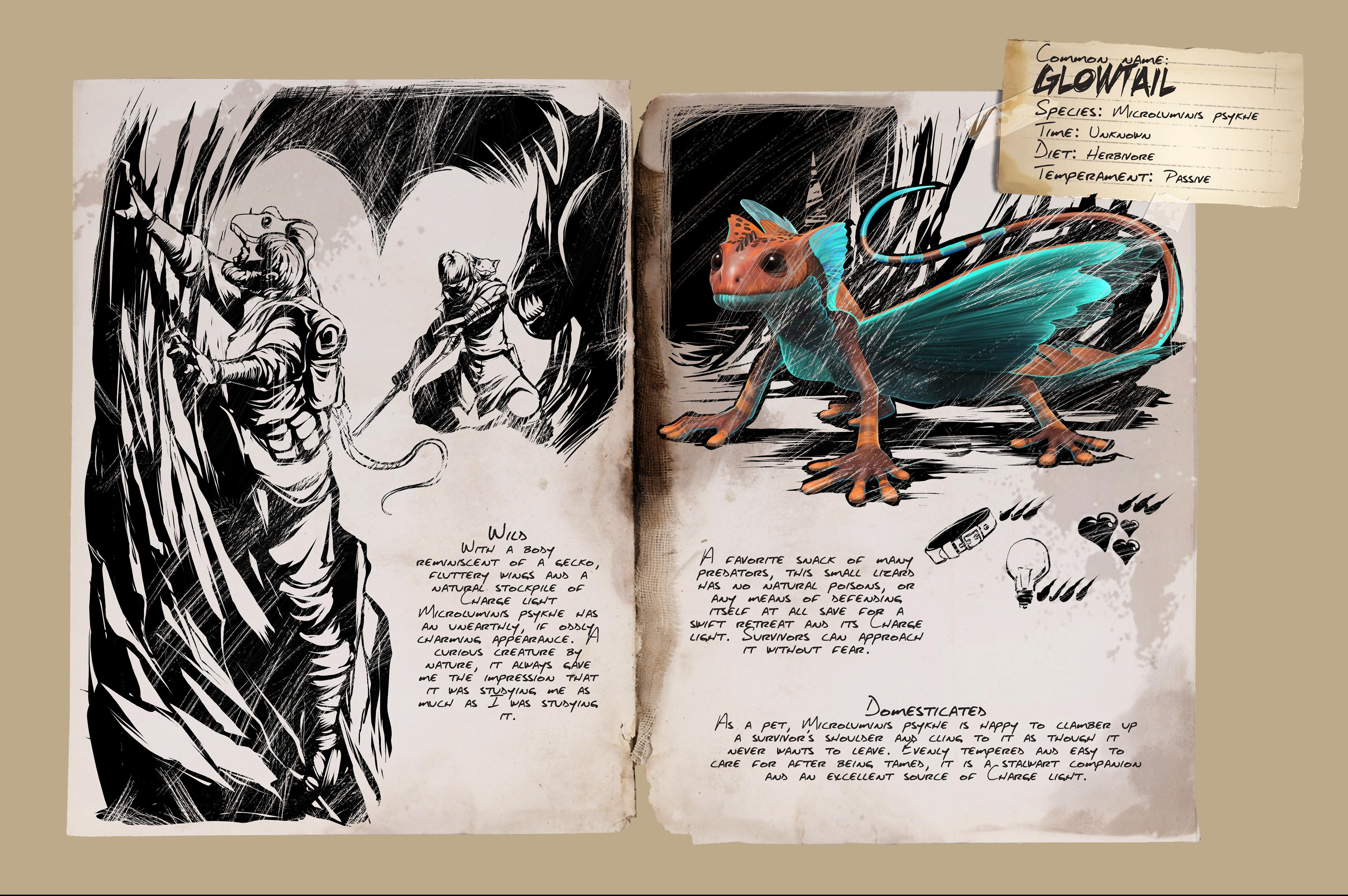Dino Dossier: Glowtail
