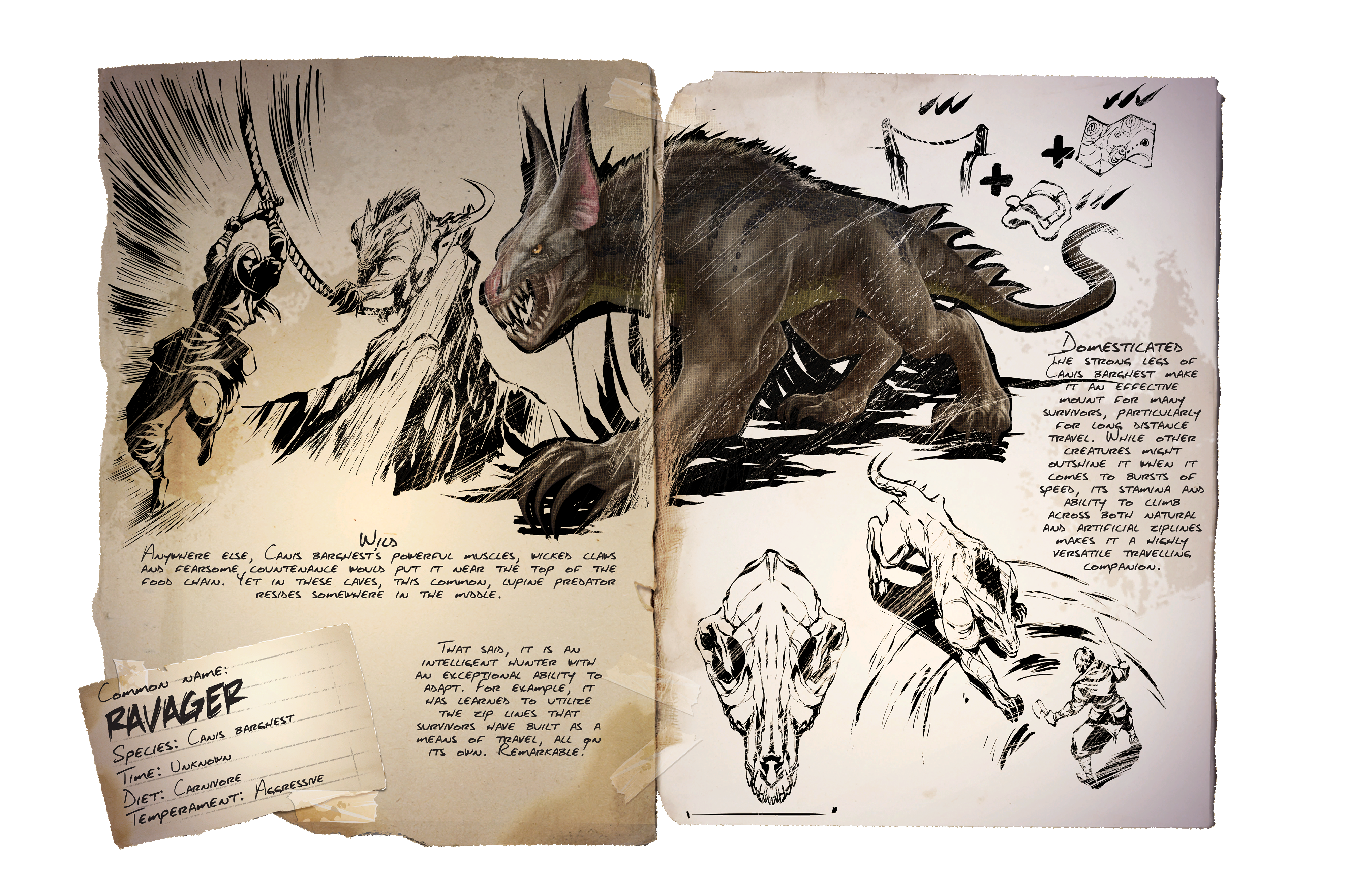 Dino Dossier: Ravager