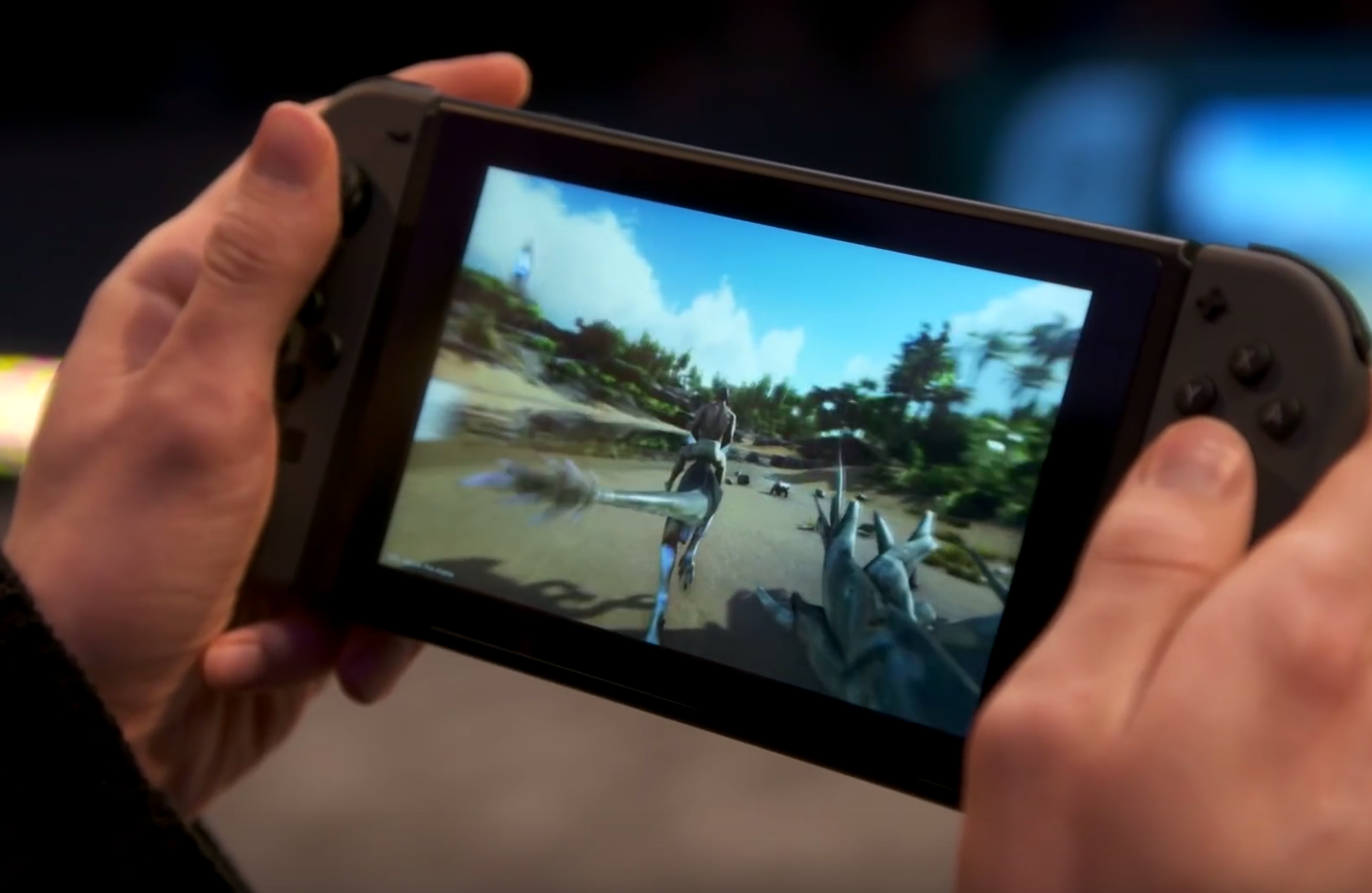 ARK: Survival Evolved announced for Nintendo Switch! GDC 2018