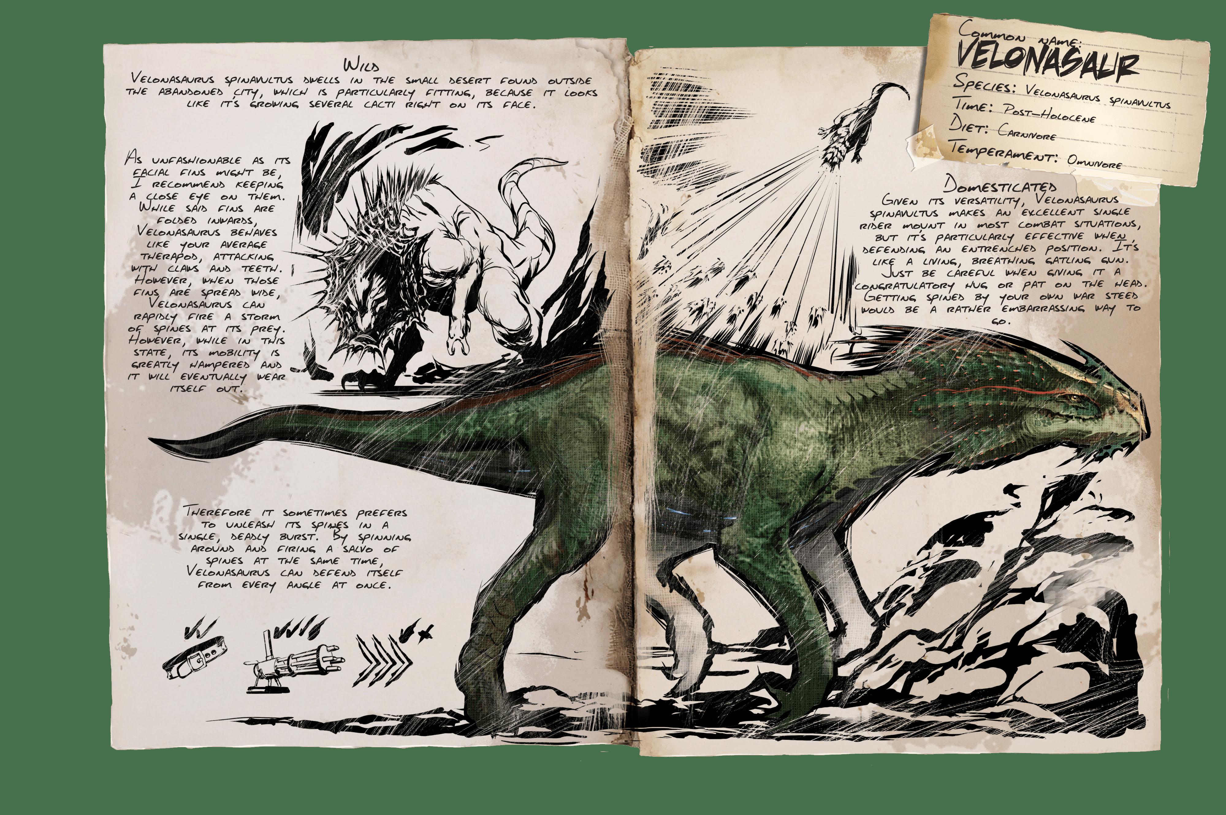 Dino Dossier: Velonasaur