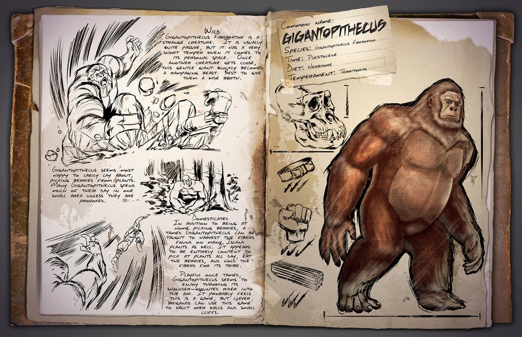 Dino Informe Gigantopithecus – Pie Grande