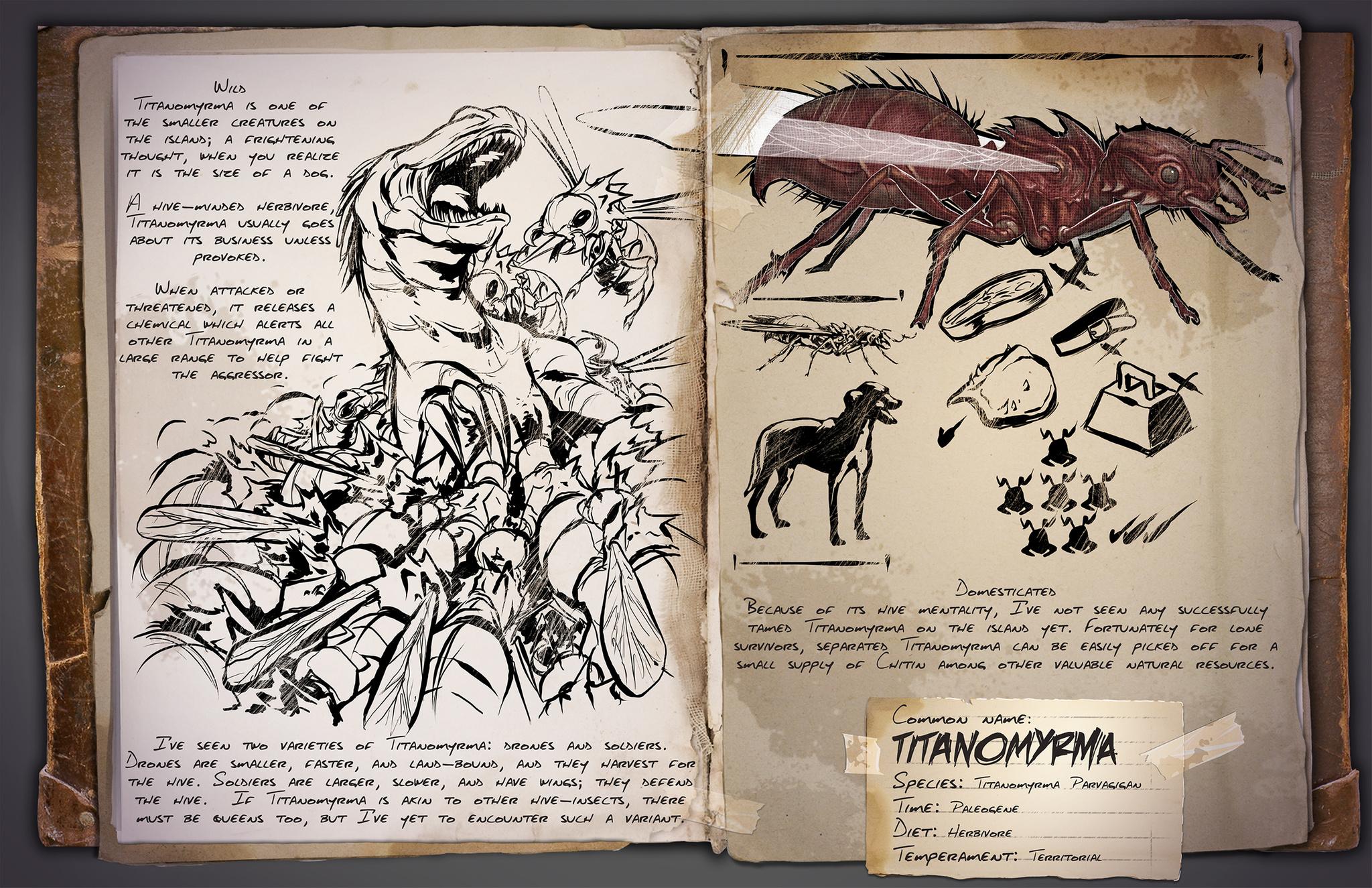 Deutsches Dino Dossier: Titanomyrma – Ameise