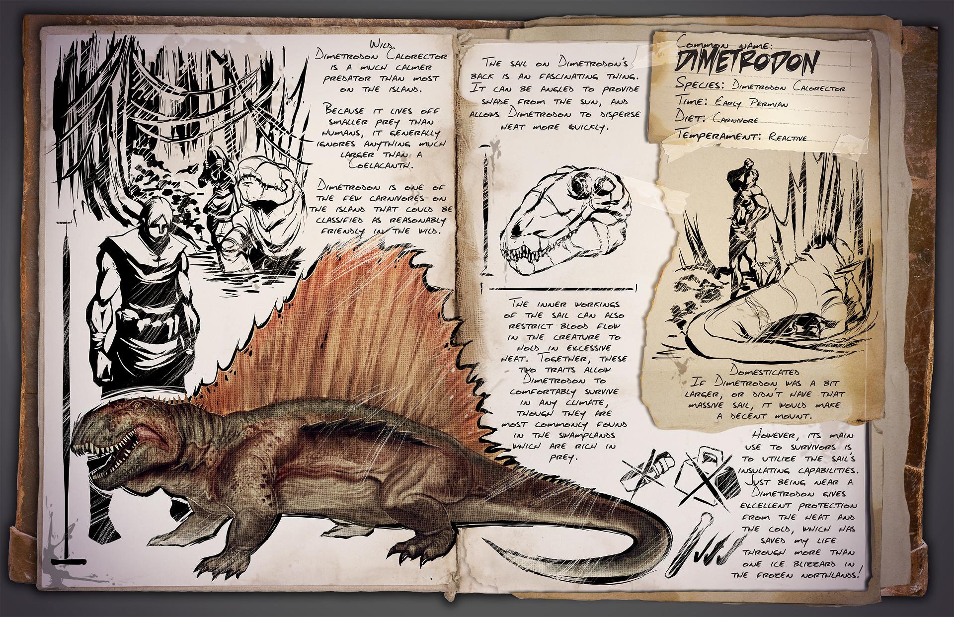 dimetrodon ark