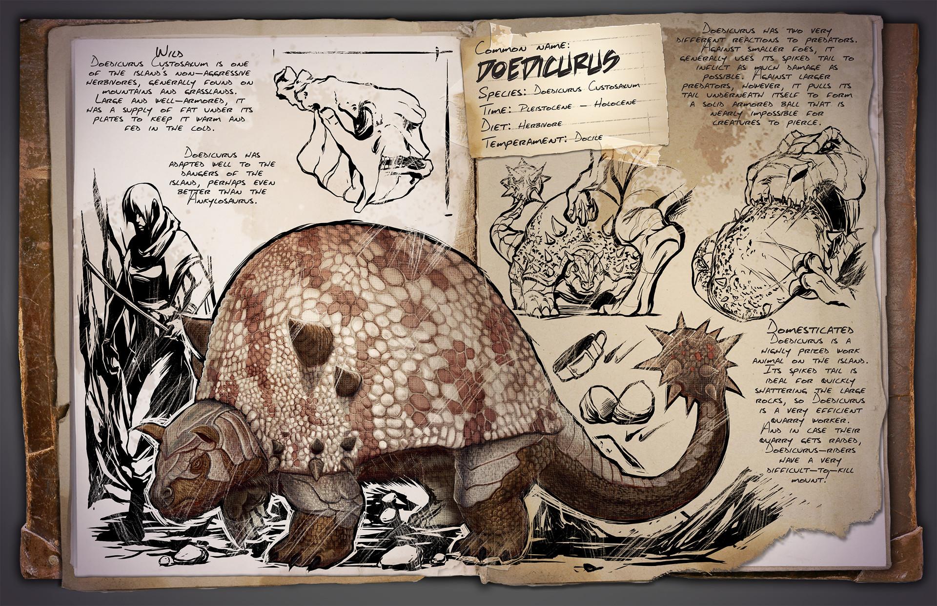 Dino Informe Doedicurus Custosaxum