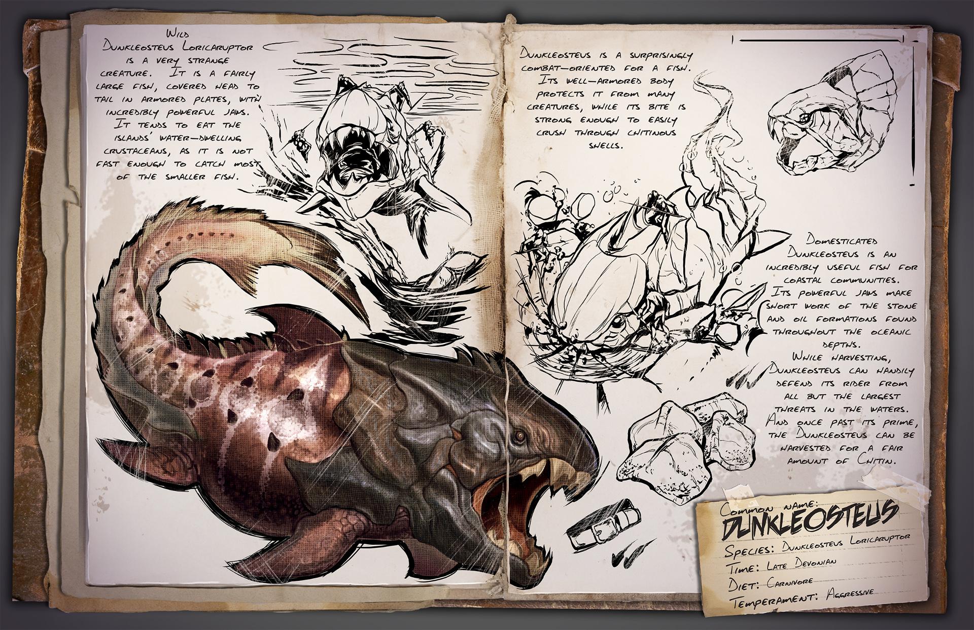 Dino Dossiê: Dunkleosteus Loricaruptor