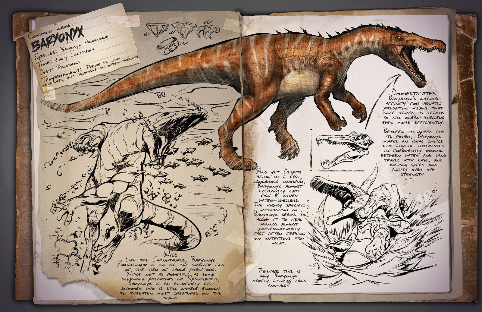Swedish Dino dossier: Baryonyx (Baryonyx aquafulgur)
