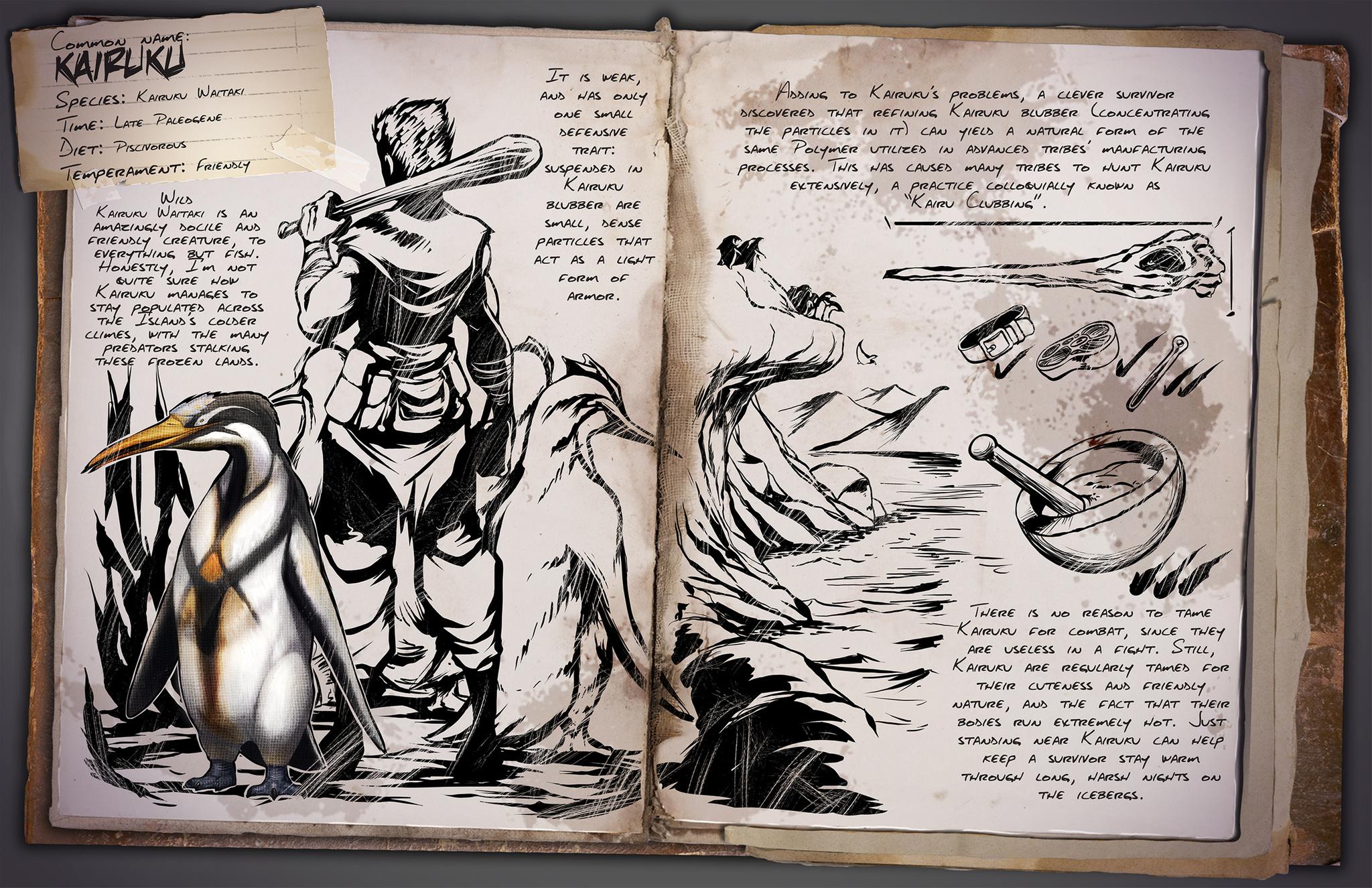 Dino Dossier: Kairuku