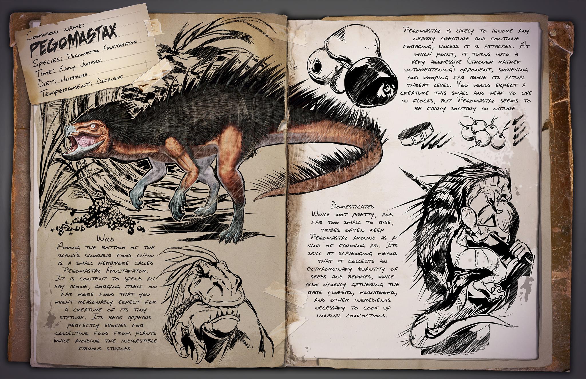 Deutsches Dino Dossier: Pegomastax