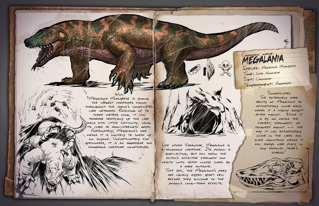 Deutsches Dino Dossier: Megalania