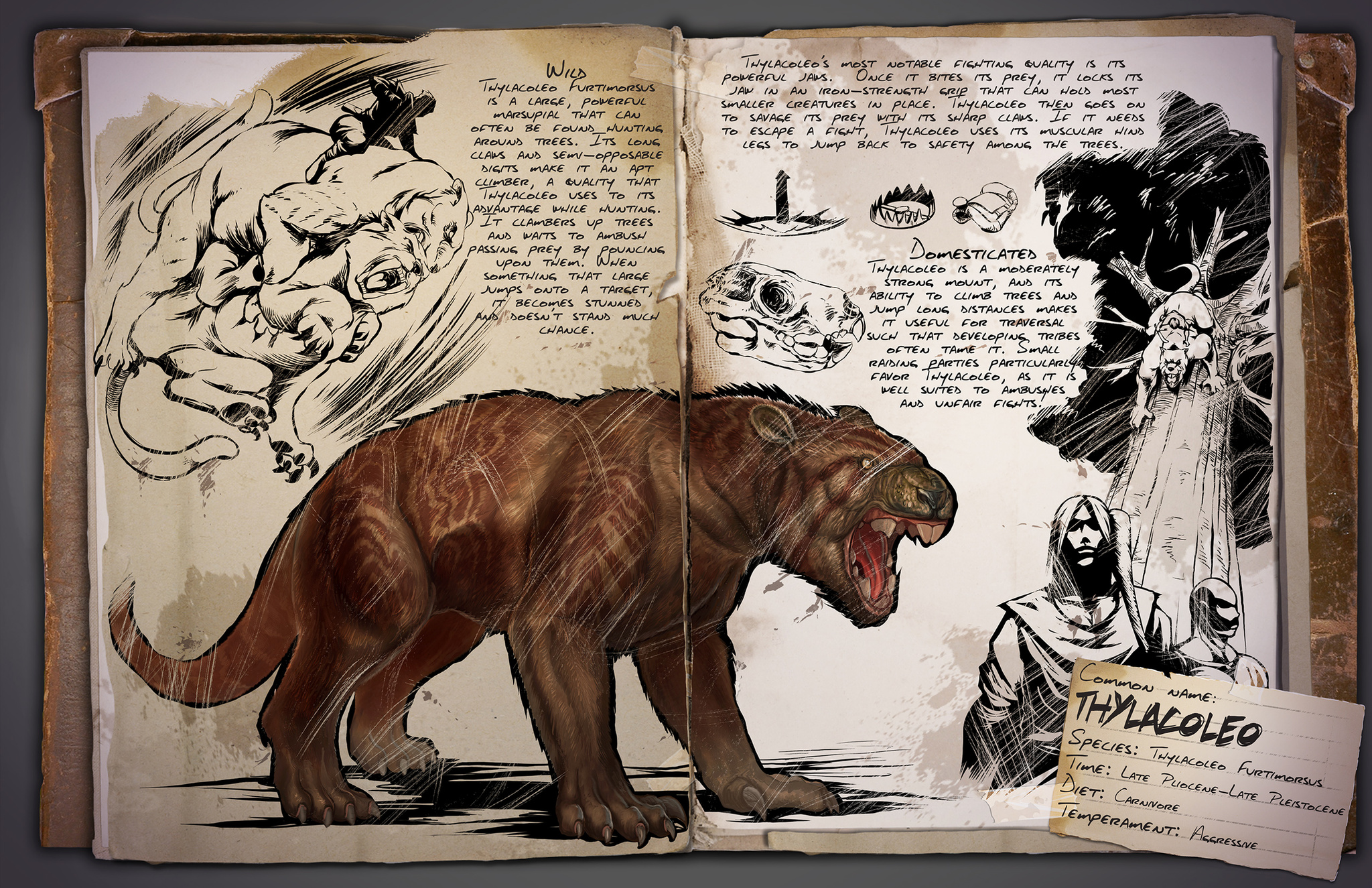 Dino Dossier: Thylacoleo