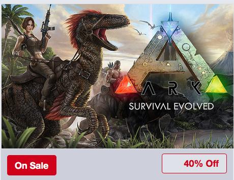 ARK: Survival Evolved – 40% Off @ Humble Bundle