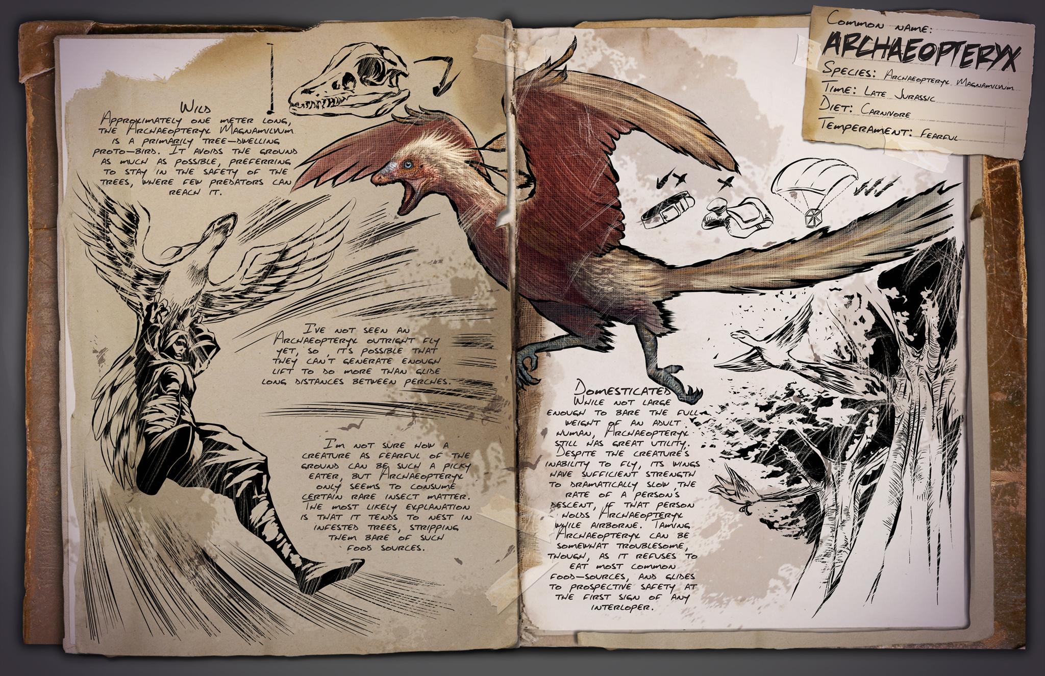 Deutsches Dino Dossier: Archaeopteryx