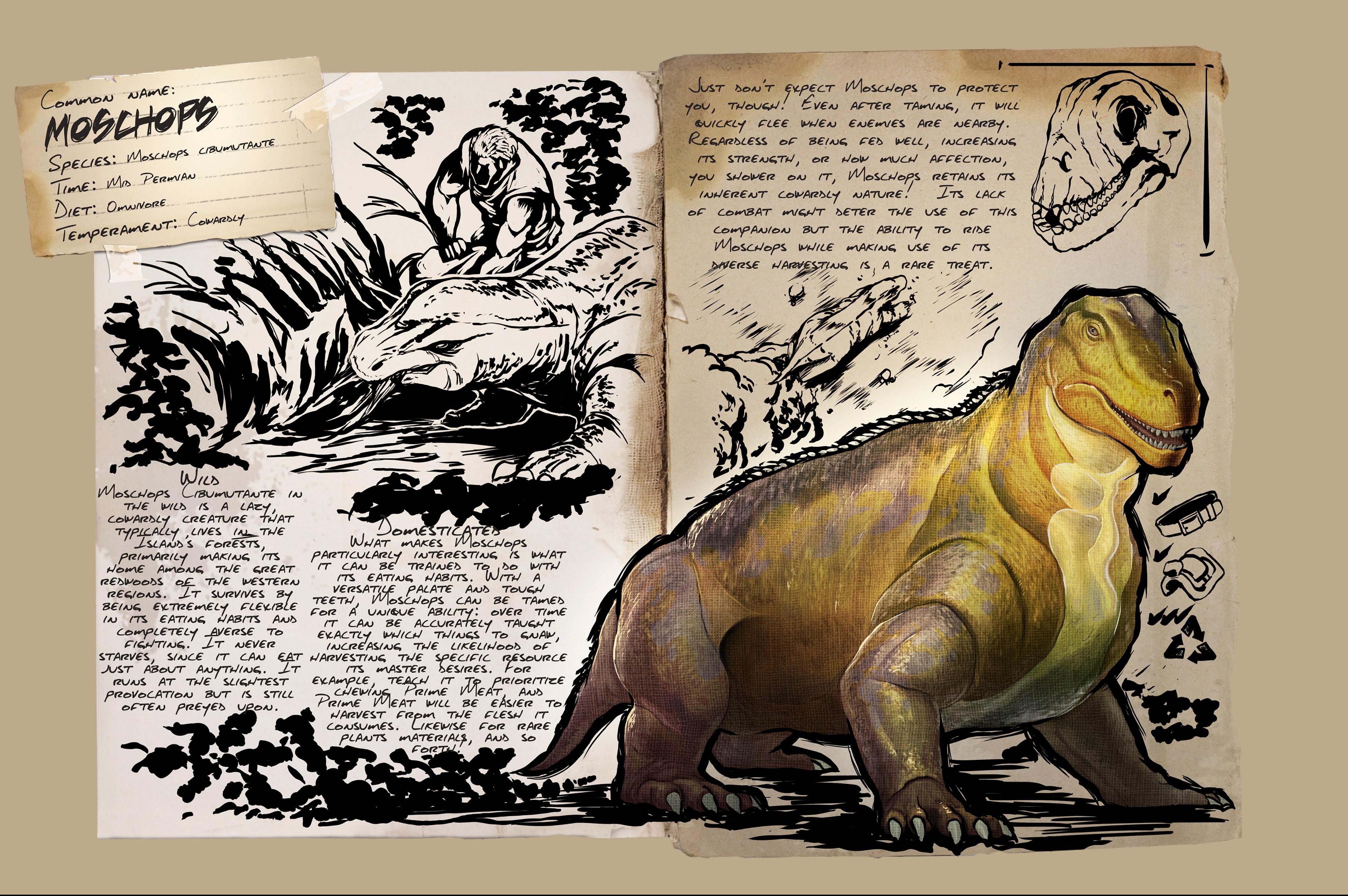 Deutsches Dino Dossier: Moschops