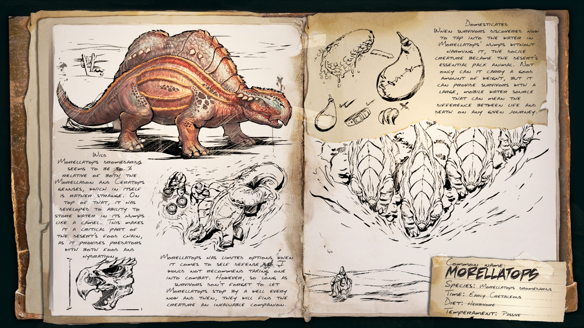 Dino Dossier: Morellatops (Scorched Earth)