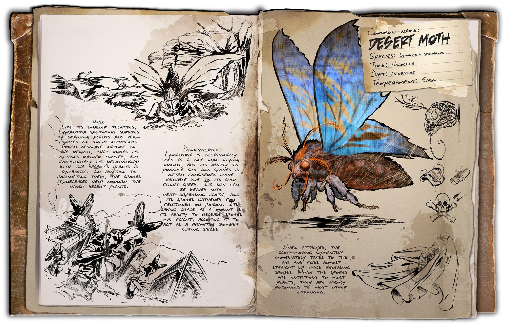 Dino Dossier: Lymantria / Desert Moth (Scorched Earth)