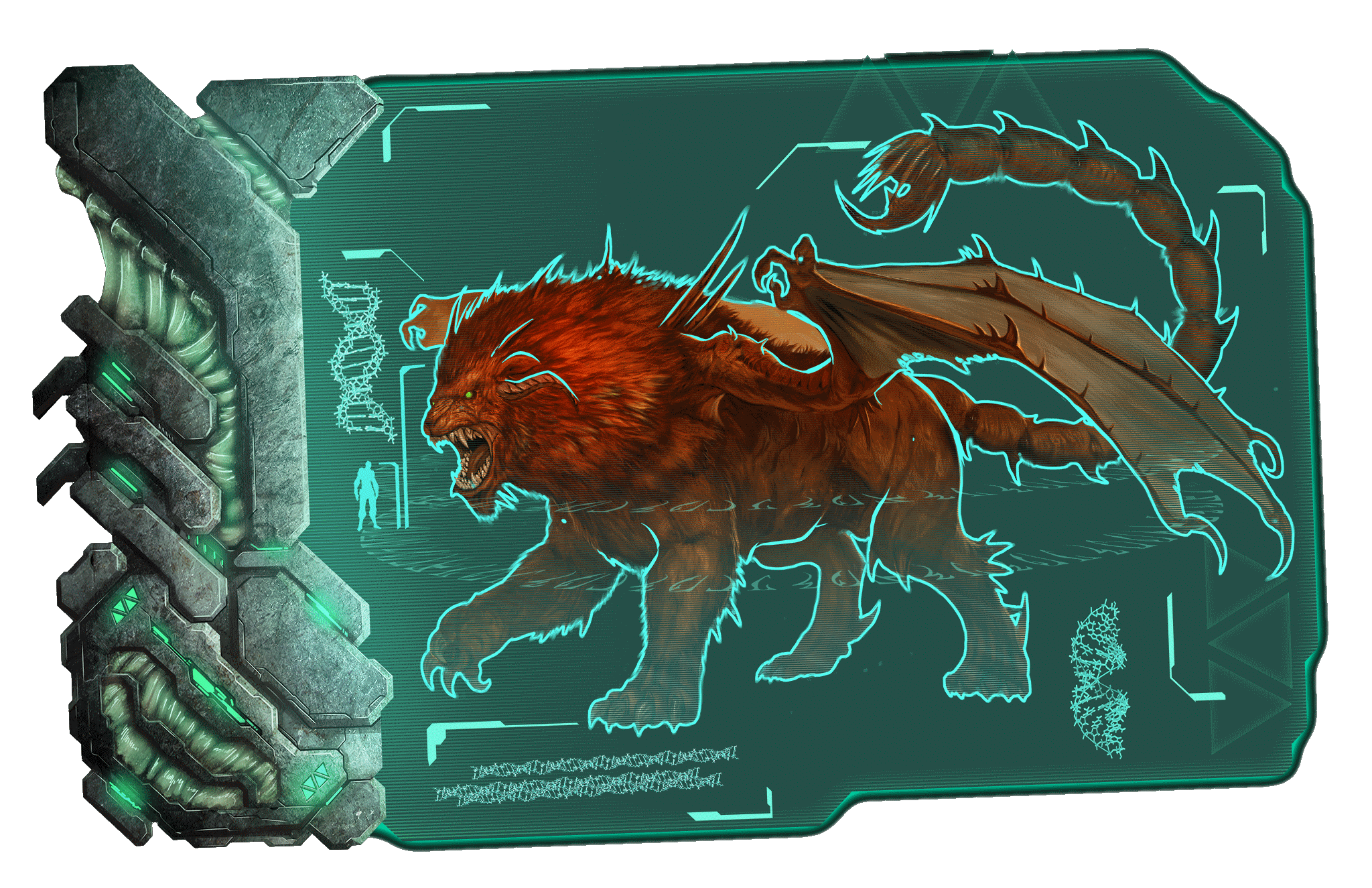 Boss Dossier: Manticore (Scorched Earth)