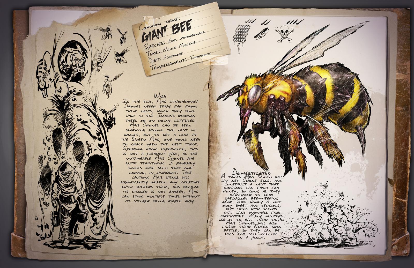 Deutsches Dino Dossier: Giant Bee (Riesige Biene)