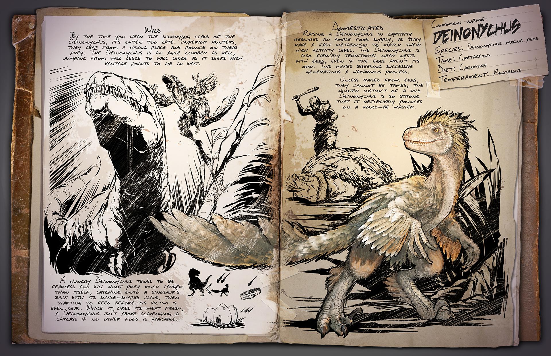 Dino Dossier: Deinonychus